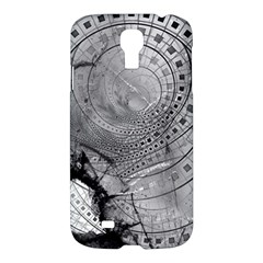 Fragmented Fractal Memories And Gunpowder Glass Samsung Galaxy S4 I9500/i9505 Hardshell Case by beautifulfractals