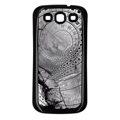 Fragmented Fractal Memories And Gunpowder Glass Samsung Galaxy S3 Back Case (black) by beautifulfractals