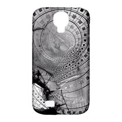 Fragmented Fractal Memories And Gunpowder Glass Samsung Galaxy S4 Classic Hardshell Case (pc+silicone) by jayaprime