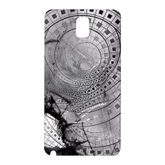 Fragmented Fractal Memories And Gunpowder Glass Samsung Galaxy Note 3 N9005 Hardshell Back Case by beautifulfractals