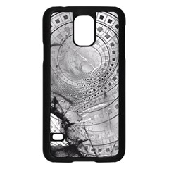 Fragmented Fractal Memories And Gunpowder Glass Samsung Galaxy S5 Case (black) by beautifulfractals