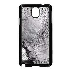 Fragmented Fractal Memories And Gunpowder Glass Samsung Galaxy Note 3 Neo Hardshell Case (black) by beautifulfractals