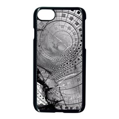 Fragmented Fractal Memories And Gunpowder Glass Apple Iphone 7 Seamless Case (black) by beautifulfractals