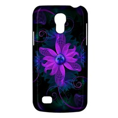 Beautiful Ultraviolet Lilac Orchid Fractal Flowers Galaxy S4 Mini by jayaprime