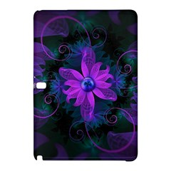 Beautiful Ultraviolet Lilac Orchid Fractal Flowers Samsung Galaxy Tab Pro 12 2 Hardshell Case by jayaprime