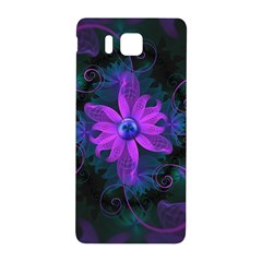 Beautiful Ultraviolet Lilac Orchid Fractal Flowers Samsung Galaxy Alpha Hardshell Back Case by jayaprime