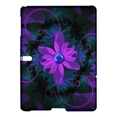 Beautiful Ultraviolet Lilac Orchid Fractal Flowers Samsung Galaxy Tab S (10 5 ) Hardshell Case  by jayaprime