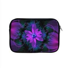 Beautiful Ultraviolet Lilac Orchid Fractal Flowers Apple Macbook Pro 15  Zipper Case by beautifulfractals
