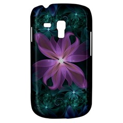 Pink And Turquoise Wedding Cremon Fractal Flowers Galaxy S3 Mini by jayaprime