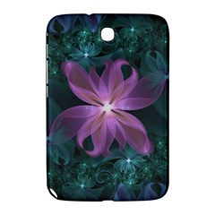 Pink And Turquoise Wedding Cremon Fractal Flowers Samsung Galaxy Note 8 0 N5100 Hardshell Case  by beautifulfractals