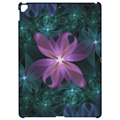 Pink And Turquoise Wedding Cremon Fractal Flowers Apple Ipad Pro 12 9   Hardshell Case by beautifulfractals