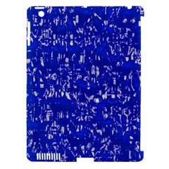 Glossy Abstract Blue Apple Ipad 3/4 Hardshell Case (compatible With Smart Cover) by MoreColorsinLife