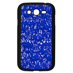 Glossy Abstract Blue Samsung Galaxy Grand Duos I9082 Case (black) by MoreColorsinLife