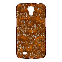 Glossy Abstract Orange Samsung Galaxy Mega 6 3  I9200 Hardshell Case by MoreColorsinLife