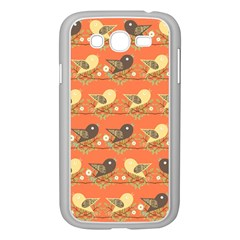 Birds Pattern Samsung Galaxy Grand Duos I9082 Case (white) by linceazul