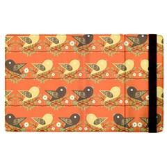 Birds Pattern Apple Ipad Pro 9 7   Flip Case