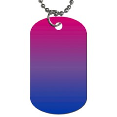 Bi Colors Dog Tag (one Side) by TailWags