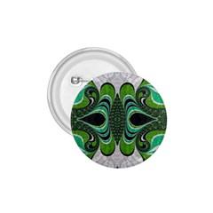 Fractal Art Green Pattern Design 1 75  Buttons by BangZart