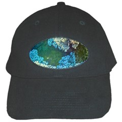 Fractal Formula Abstract Backdrop Black Cap