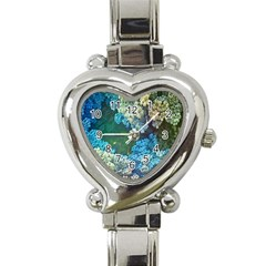 Fractal Formula Abstract Backdrop Heart Italian Charm Watch