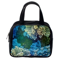 Fractal Formula Abstract Backdrop Classic Handbags (one Side)