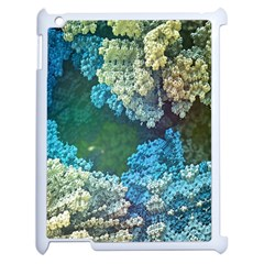 Fractal Formula Abstract Backdrop Apple Ipad 2 Case (white) by BangZart