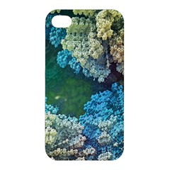 Fractal Formula Abstract Backdrop Apple Iphone 4/4s Hardshell Case