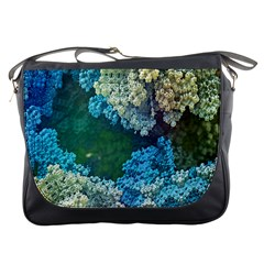 Fractal Formula Abstract Backdrop Messenger Bags by BangZart