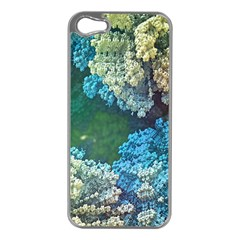 Fractal Formula Abstract Backdrop Apple Iphone 5 Case (silver) by BangZart