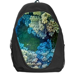 Fractal Formula Abstract Backdrop Backpack Bag