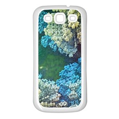 Fractal Formula Abstract Backdrop Samsung Galaxy S3 Back Case (white) by BangZart