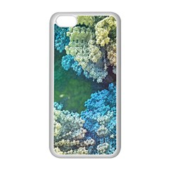 Fractal Formula Abstract Backdrop Apple Iphone 5c Seamless Case (white)