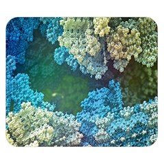 Fractal Formula Abstract Backdrop Double Sided Flano Blanket (small)