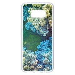 Fractal Formula Abstract Backdrop Samsung Galaxy S8 Plus White Seamless Case