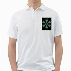 Lines Abstract Background Golf Shirts