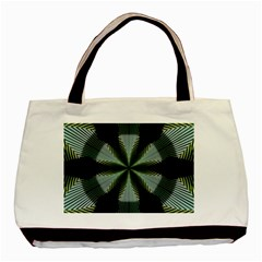 Lines Abstract Background Basic Tote Bag (two Sides)