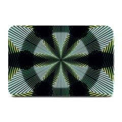 Lines Abstract Background Plate Mats by BangZart