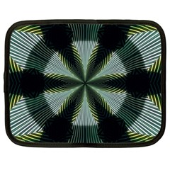 Lines Abstract Background Netbook Case (large)