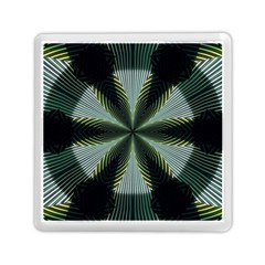 Lines Abstract Background Memory Card Reader (square)