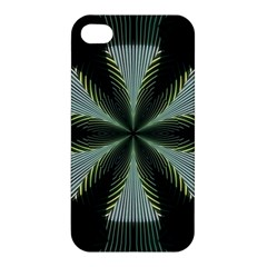 Lines Abstract Background Apple Iphone 4/4s Premium Hardshell Case by BangZart