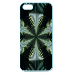 Lines Abstract Background Apple Seamless Iphone 5 Case (color) by BangZart