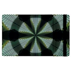 Lines Abstract Background Apple Ipad 3/4 Flip Case by BangZart