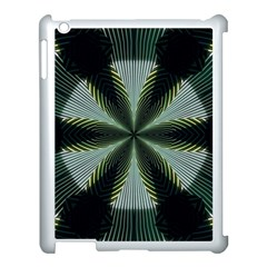 Lines Abstract Background Apple Ipad 3/4 Case (white) by BangZart