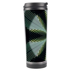 Lines Abstract Background Travel Tumbler by BangZart