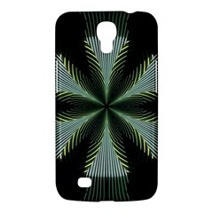Lines Abstract Background Samsung Galaxy Mega 6 3  I9200 Hardshell Case by BangZart