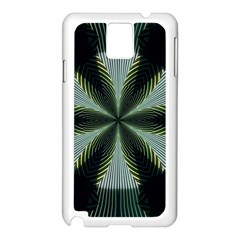 Lines Abstract Background Samsung Galaxy Note 3 N9005 Case (white)