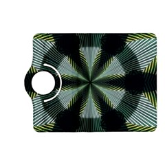 Lines Abstract Background Kindle Fire Hd (2013) Flip 360 Case by BangZart