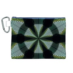 Lines Abstract Background Canvas Cosmetic Bag (xl) by BangZart