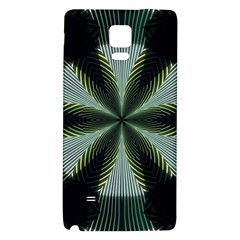 Lines Abstract Background Galaxy Note 4 Back Case by BangZart