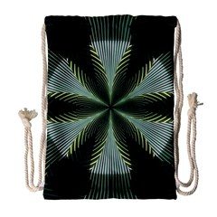 Lines Abstract Background Drawstring Bag (large)